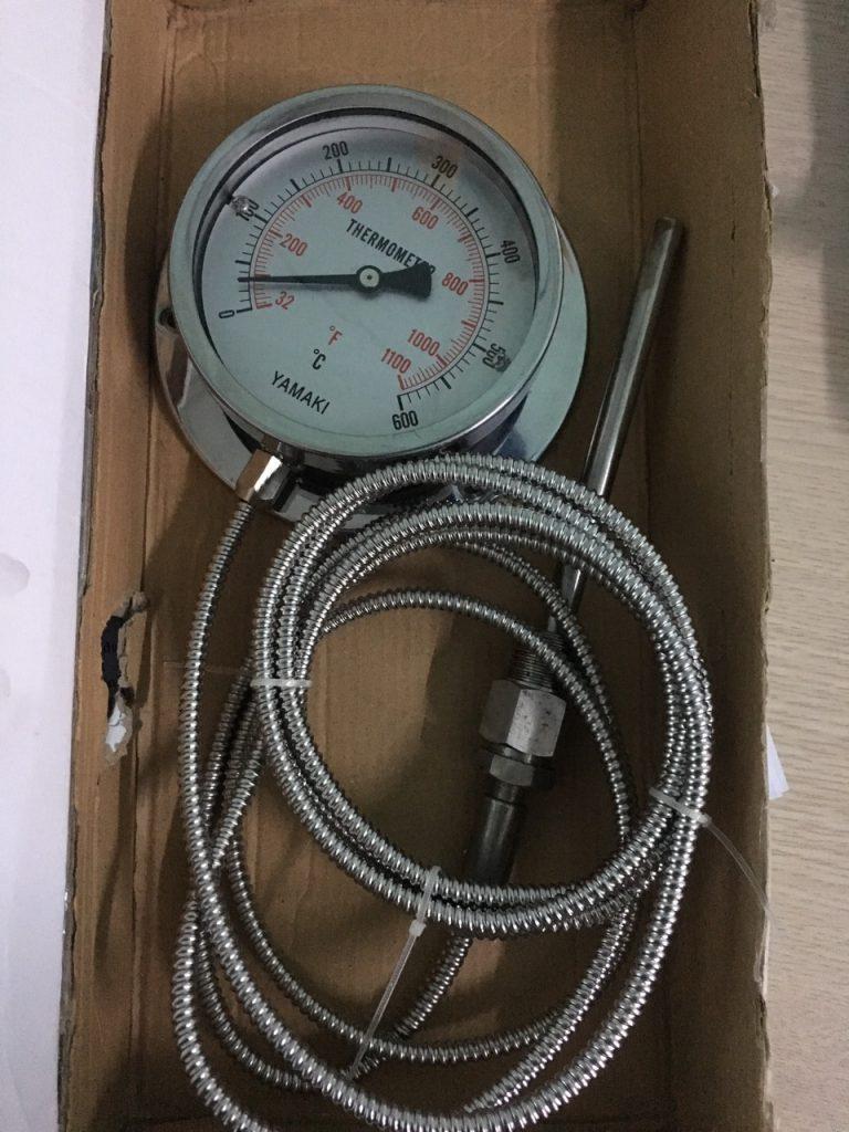 Đồng hồ nhiệt dây 3m, dải nhiệt 0-600oC