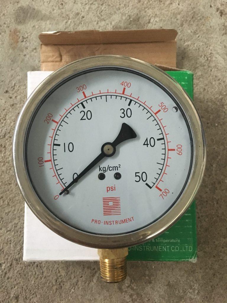 đồng hồ áp suất Prointrumet Đài Loan