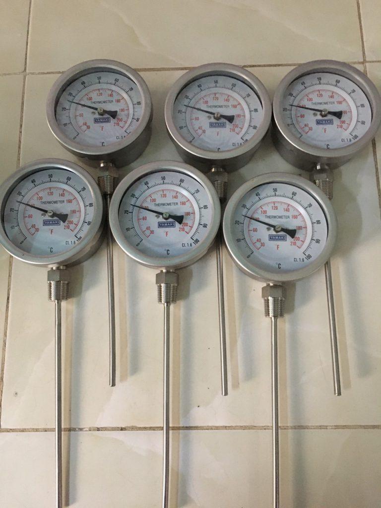 Đồng hồ đo nhiệt độ chân đứng Yamaki Đài Loan