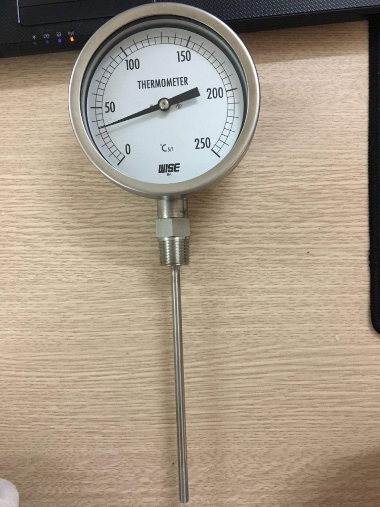 Đồng hồ nhiệt chân đứng - Hàng chính hãng Wise Hàn Quốc