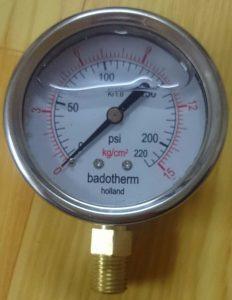 Đồng hồ đo áp suất Badotherm