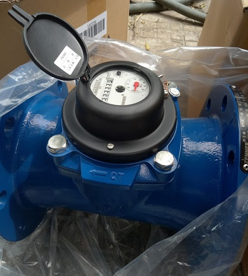 Đồng hồ đo nước thải Zenner lắp bích