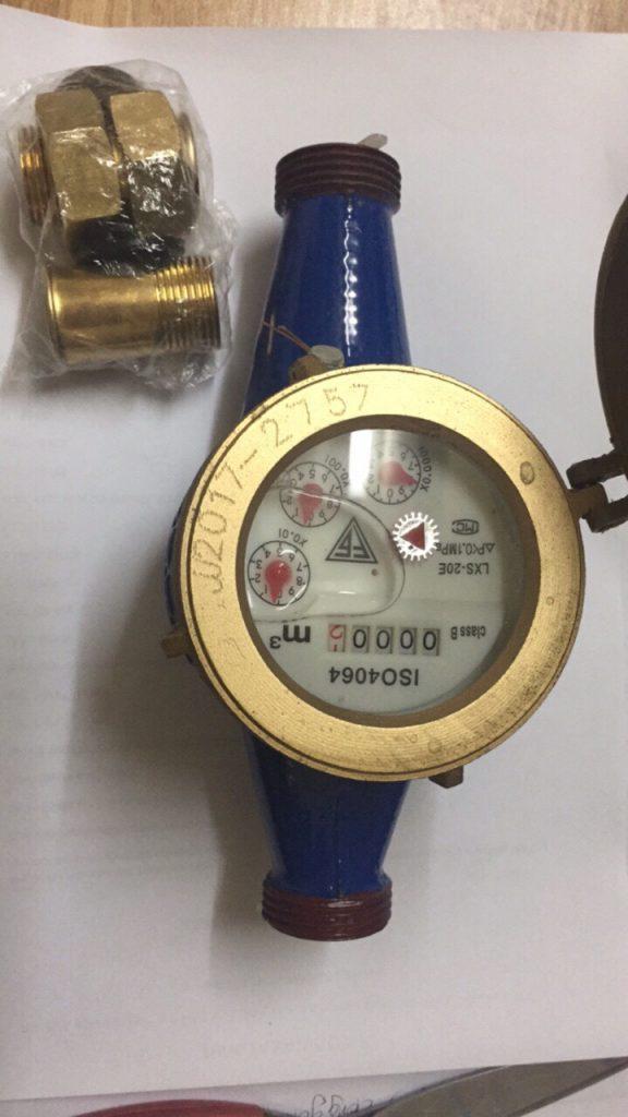 Đồng hồ đo nước trung Quốc