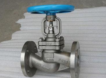 Van cầu inox nối bích chất liệu inox 304