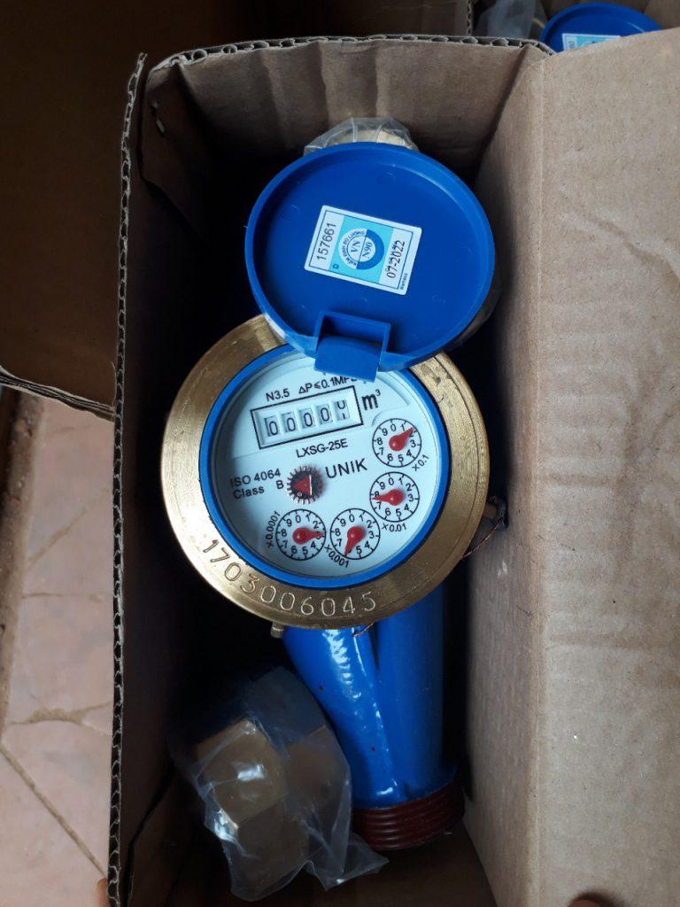 Đồng hồ nước lạnh UNIK DN25