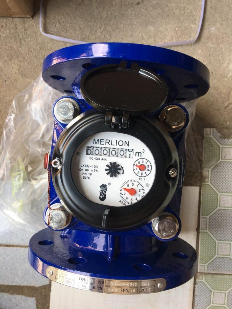 Đồng hồ nước thải Merlion