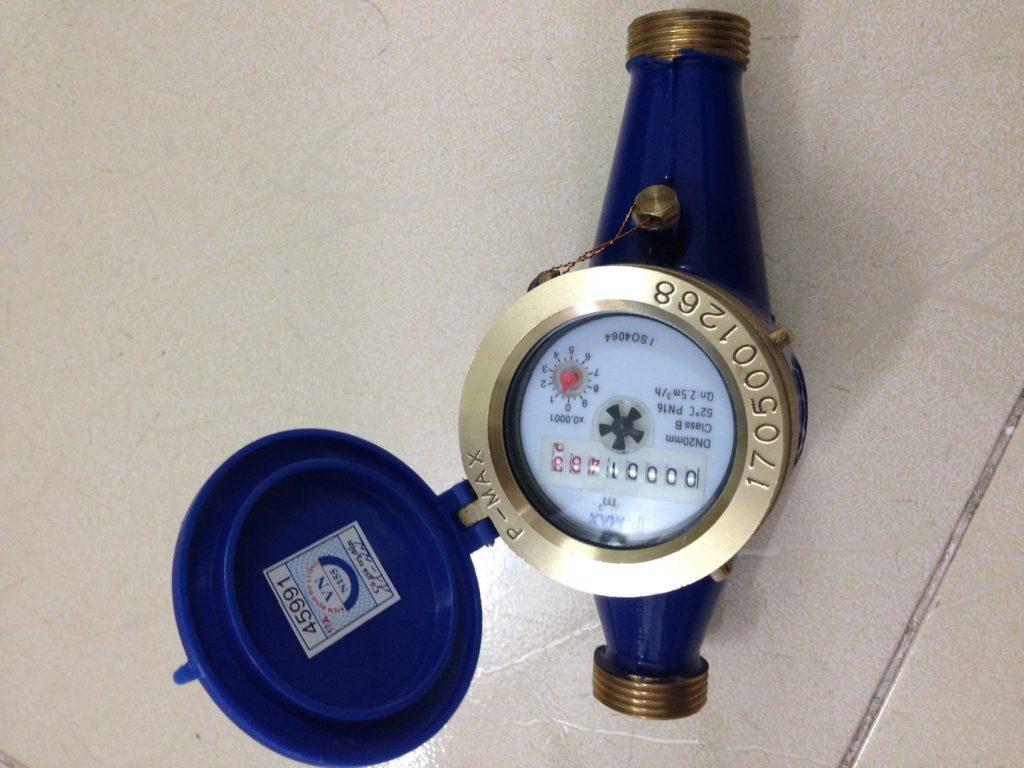 đồng hồ nước Pmax lắp ren