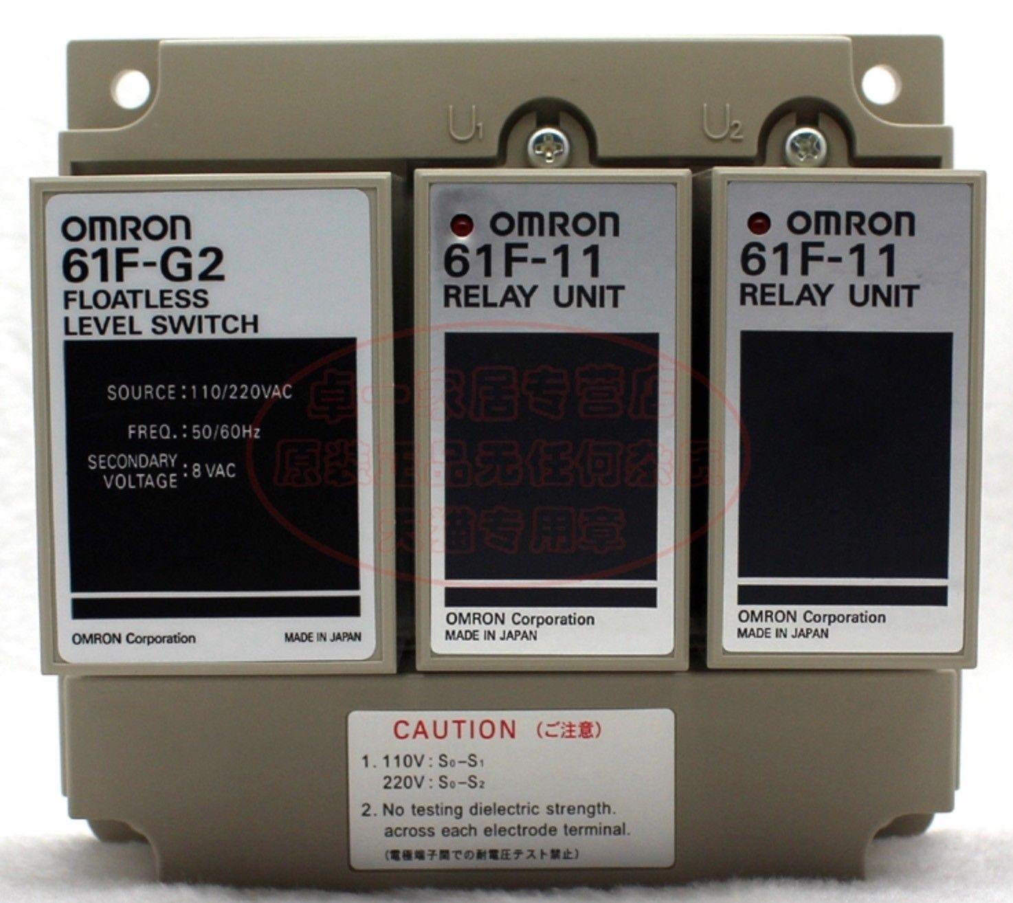 Bộ điều khiển mức Omron61F-G2-AP AC110/220