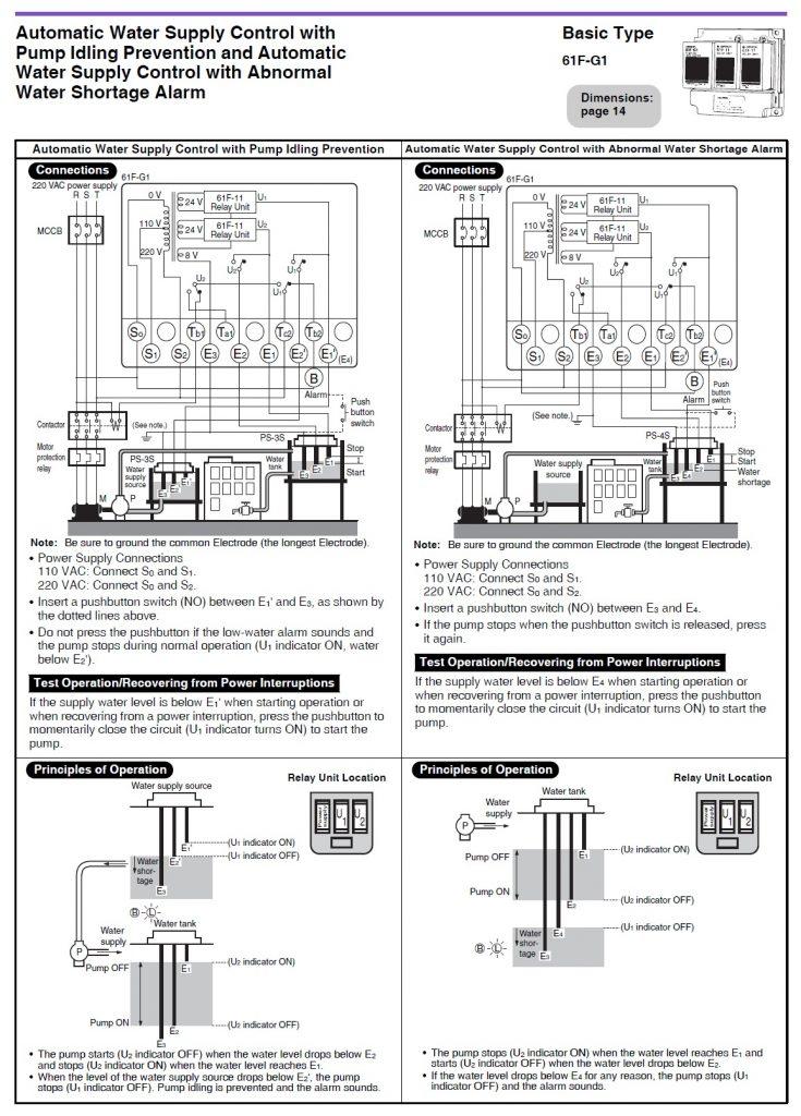 Schema Wiring Diagram Omron 61f G1 Ap Full Version Hd