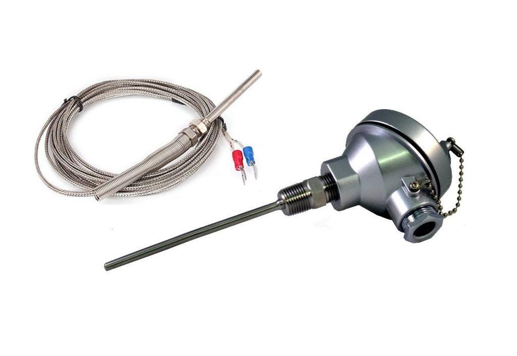 Cảm biến nhiệt độ PT100 dạng 3 dây, 2 dây