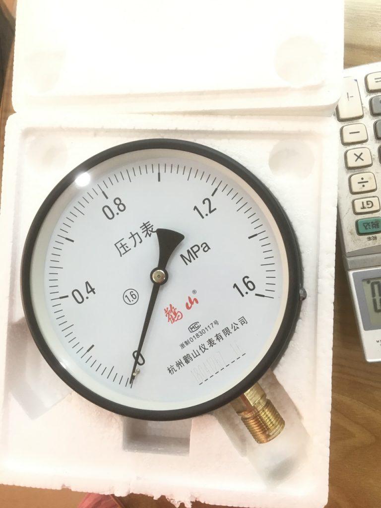 Đồng hồ đo áp suất giá rẻ trung quốc