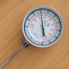 Đồng hồ đo nhiệt chân đứng SHM