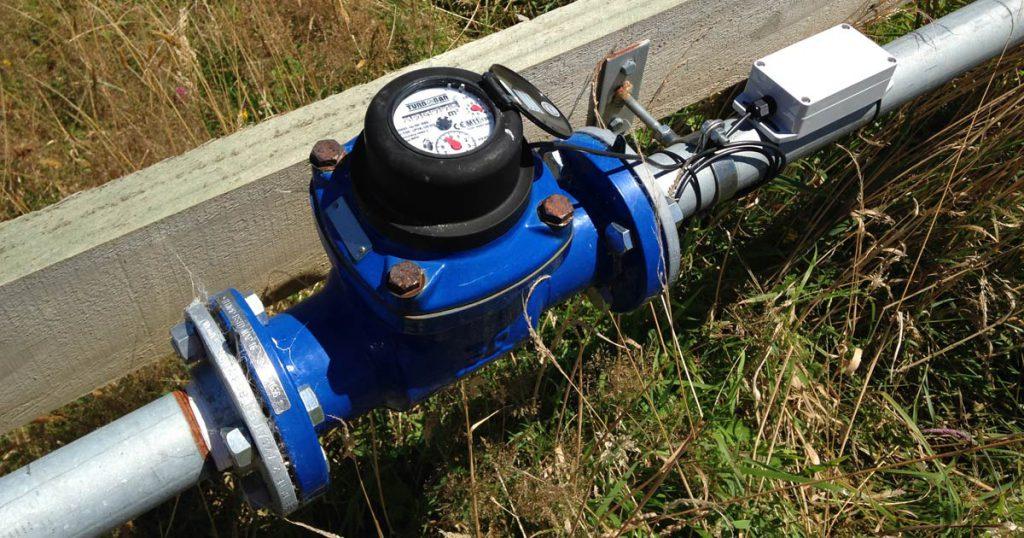 Lắp đặt đồng hồ nước cho hệ thống xử lý nước thải