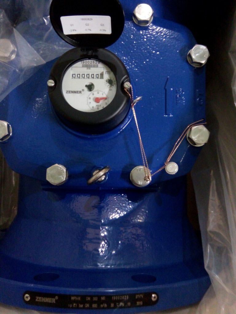 Đồng hồ nước lắp bích Zenner DN300 dùng cho nước thải