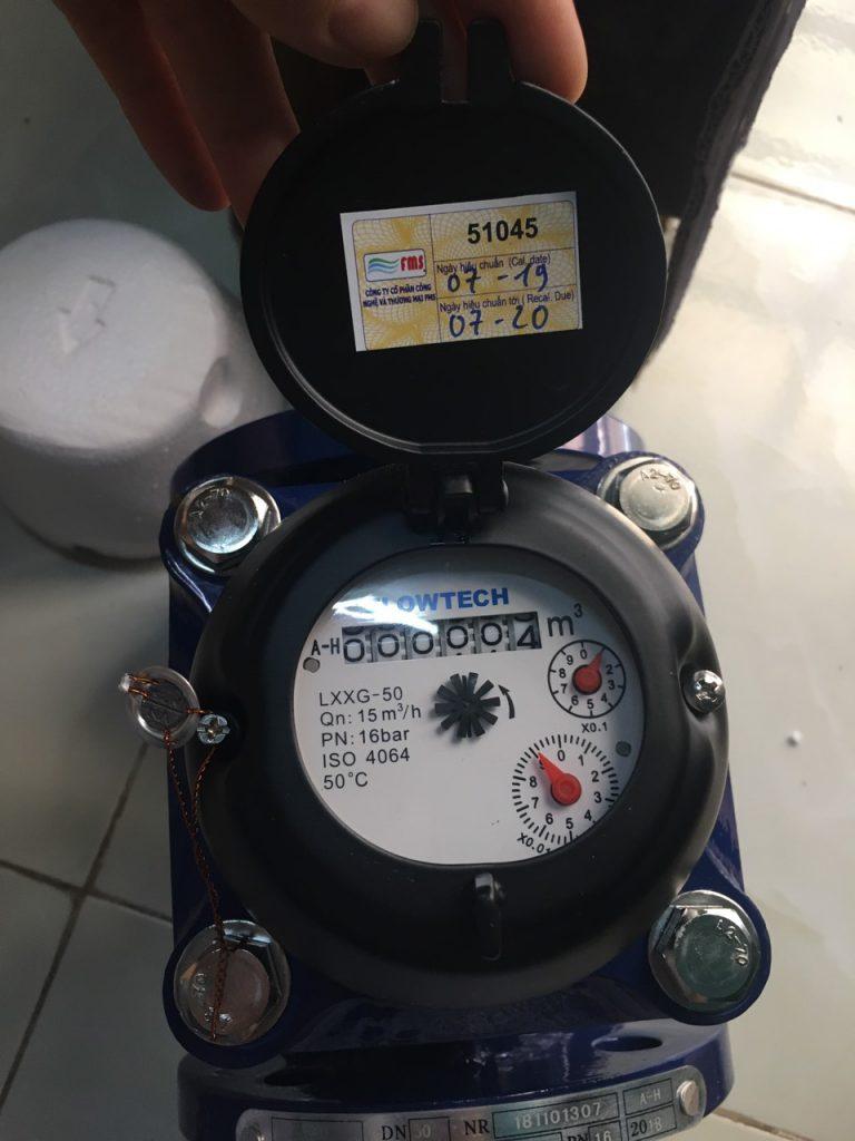 Đồng hồ đo nước thải Flowtech - Malaysia DN50