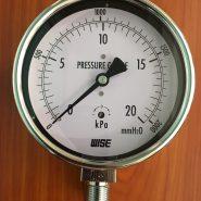 Đồng hồ đo áp suất thấp P252 100A 0-20KPA