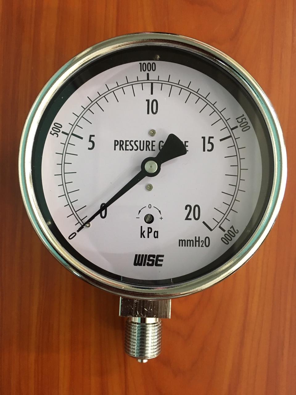 Đồng hồ đo áp suất thấp KPA