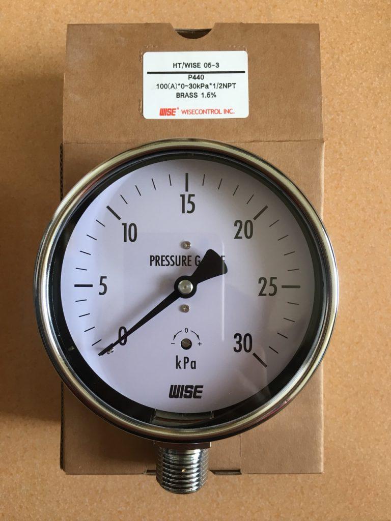 Đồng hồ đo áp suất thấp wise P440 30KPA
