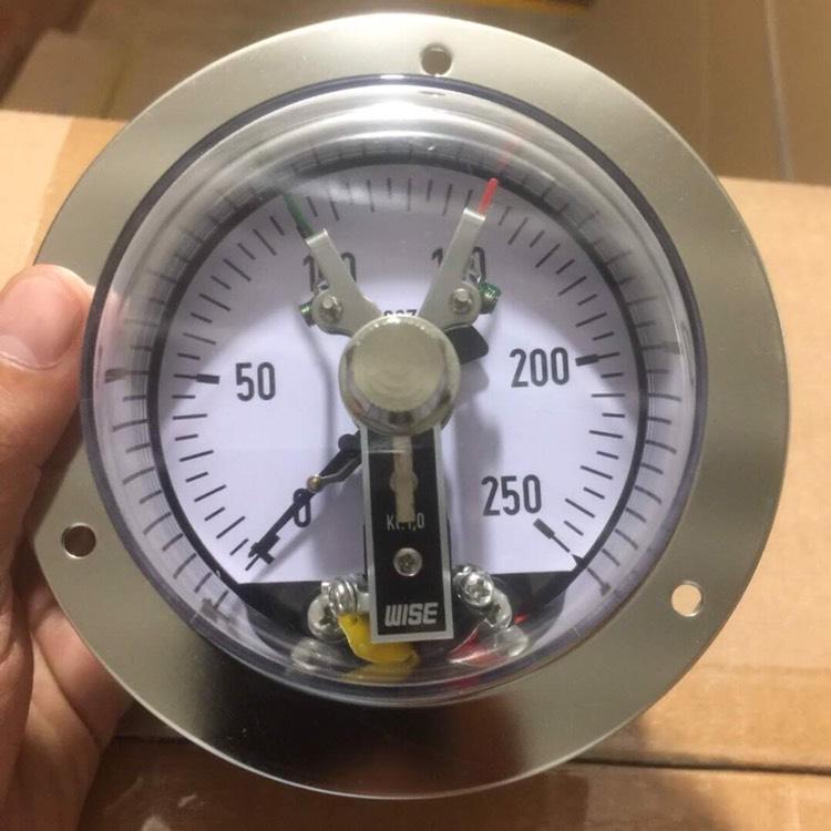 Đồng hồ áp suất wise chân sau 250 bar
