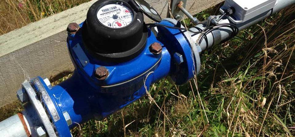 Lắp đặt đồng hồ đo lưu lượng nước