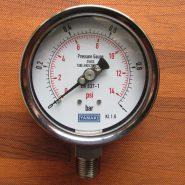 Đồng hồ đo áp suất 0-1 bar